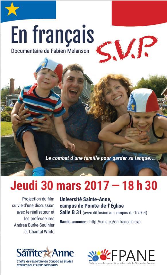 Affiche En français SVP