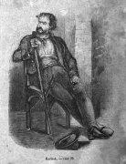 Image 6 : Le pirate Kernok dessiné par Jean-Adolphe Beaucé (1818-1875). Gravure de Jacques Adrien Lavieille (1818-1862) (Sue, 1850, 32). Provenance : Internet Archive, archive.org/details/bub_gb_HX0ehGl8K6IC