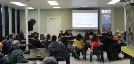 C'est plus d'une trentaine de membres de l'université et de la communauté qui ont assisté à la classe de maître.