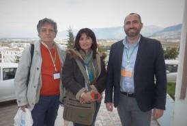 Le professeur Carlo Saccone, spécialiste de littérature persane, et Nahid Norozi, chercheure postdoctorale et instructrice de persan, représentaient l'Université de Bologne en Italie.